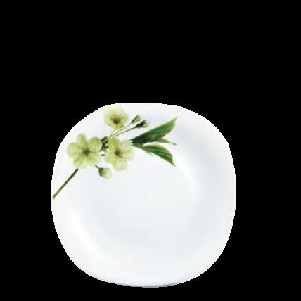 Đĩa thủy tinh vuông 278 Diva Ivory S.D (La Opala) - 1