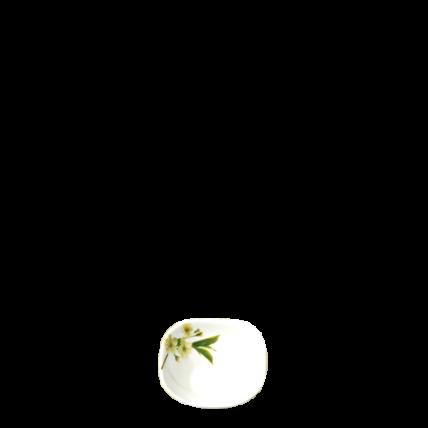 Chén thủy tinh vuông 115 Diva Ivory S.D (La Opala) - 1