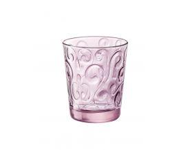 Ly thủy tinh Naos 29.5cl - màu hồng (Bormioli Rocco)