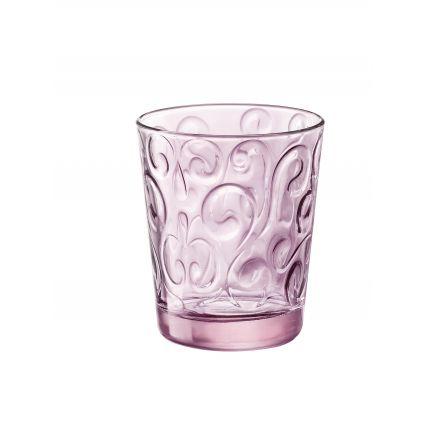 Ly thủy tinh Naos 29.5cl - màu hồng (Bormioli Rocco) - 1
