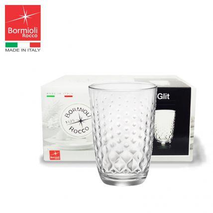 Bộ 6 ly thủy tinh Glit 39.5cl (Bormioli Rocco) - 4