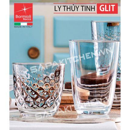 Bộ 6 ly thủy tinh Glit 39.5cl (Bormioli Rocco) - 2
