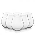 Bộ 6 ly thủy tinh cao cấp Inalto Arte 48.7cl (Bormioli Rocco) - small 1