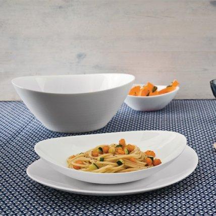 Bộ chén đĩa thủy tinh Prometeo 10 món (Bormioli Rocco)