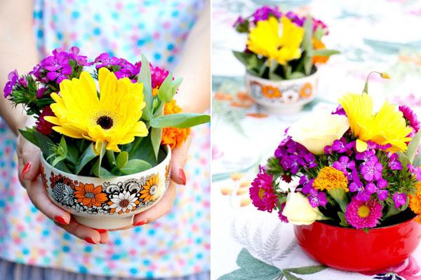 Bình hoa thuỷ tinh đẹp hình bát - Sapakitchen