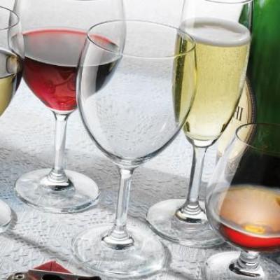 Ly rượu thủy tinh Globo Globlet 41cl (Bormioli Rocco) h1