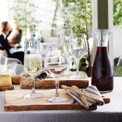 Ly rượu thủy tinh Globo Wine 26cl (Bormioli Rocco) h1