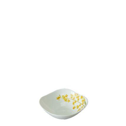 Chén thủy tinh vuông 115 Diva Ivory Y.G (La Opala) - 1