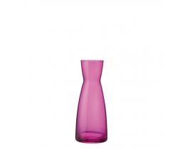 Bình rót rượu thủy tinh Ypsilon 0.5L màu hồng (Bormioli Rocco)