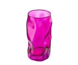 Ly thủy tinh Sorgente 45cl - màu hồng (Bormioli Rocco)