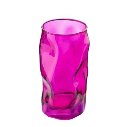 Ly thủy tinh Sorgente 45cl - màu hồng (Bormioli Rocco) - 2