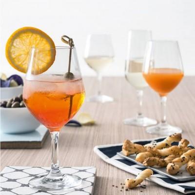 Bộ 6 ly rượu thủy tinh Verso 40cl (Bormioli Rocco)