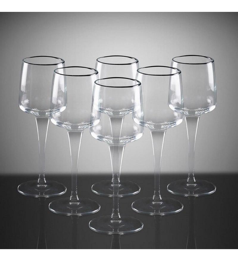 Bộ 6 ly rượu thủy tinh cao cấp Aurum - 43cl (Bormioli Rocco)