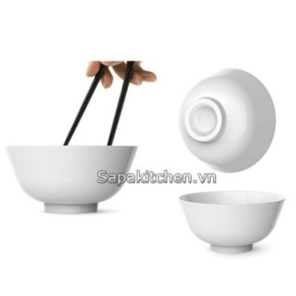 Bộ chén đĩa thủy tinh Asian