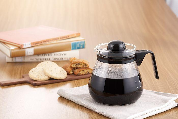 Bình thủy tinh giúp thấy rõ màu sắc của trà