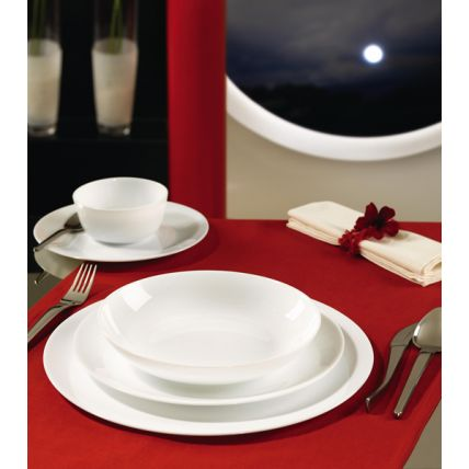 Phong cách quý tộc cùng bộ chén đĩa thủy tinh Asian 12 món