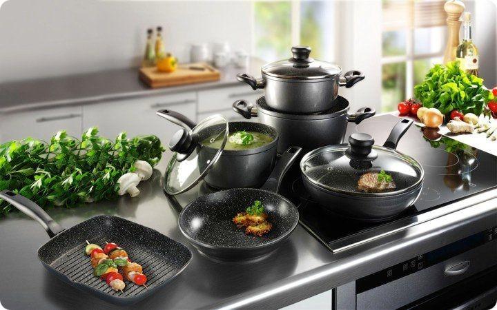 Bộ nồi chảo giúp căn bếp thêm hiện đại