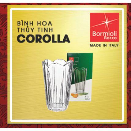 Bình hoa thủy tinh Corolla (hộp) (Bormioli Rocco) - 2