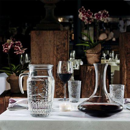 Romantic bộ bình ly thủy tinh 5 món (Bormioli Rocco) - 2