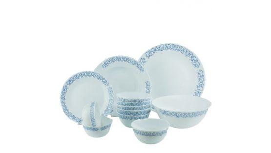 Tiệc gia đình nhẹ nhàng, ấm cúng cùng bộ chén đĩa thủy tinh Diva Ivory R.A