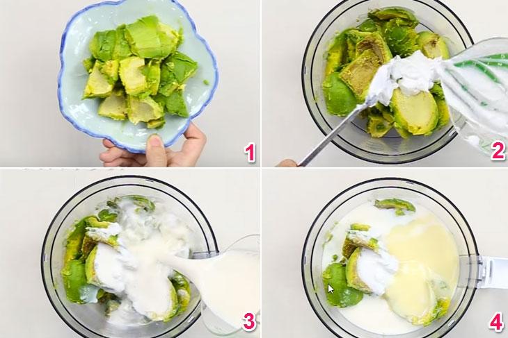 Cách làm kem bơ sữa đặc thơm ngon cực đỉnh