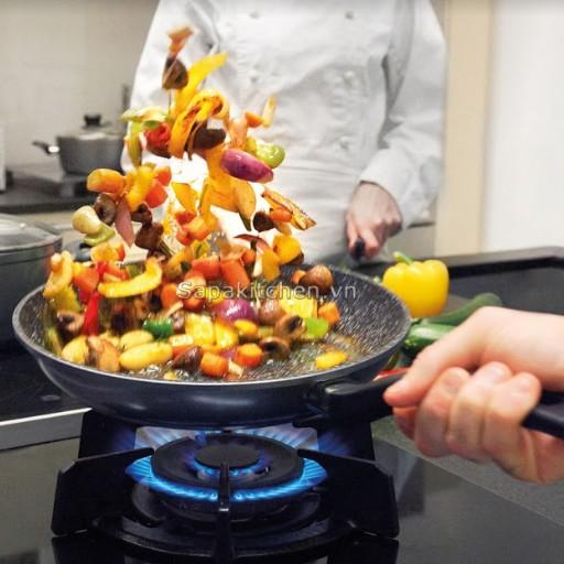 Trọn vẹn màu sắc và hương vị món ăn cùng chảo chống dính Stoneline