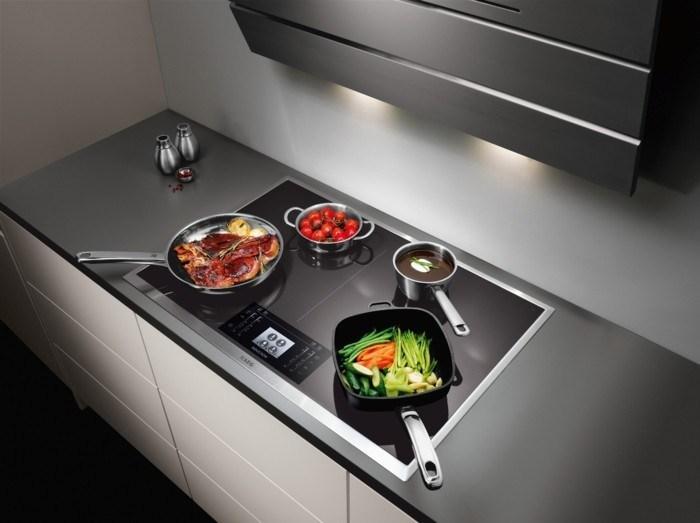 Kích thước nồi, chảo cần tương xứng với vùng nấu của bếp
