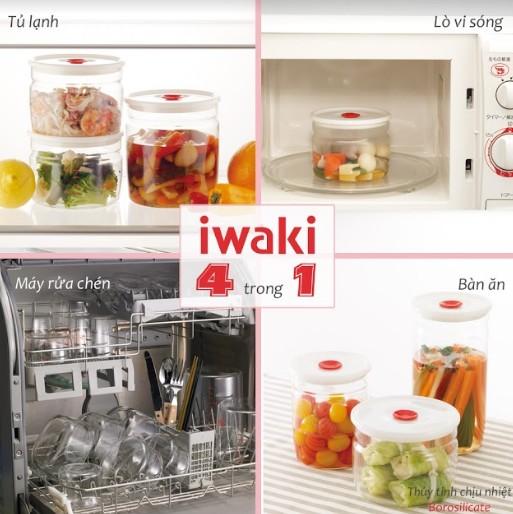Hộp thủy tinh Iwaki – lựa chọn hoàn hảo cho bà nội trợ Việt