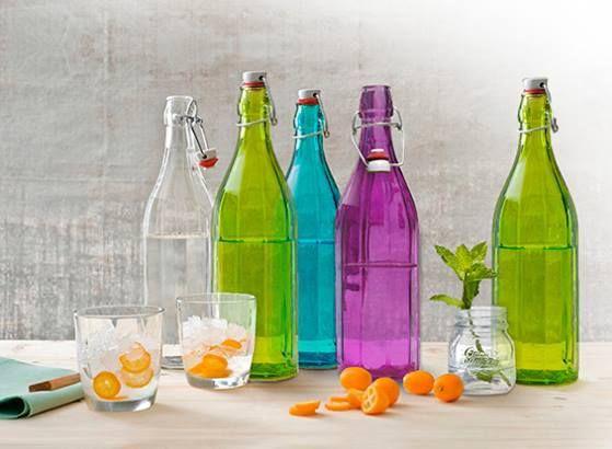 Chai thủy tinh màu Oxford – lựa chọn hoàn hảo cho mọi bữa tiệc