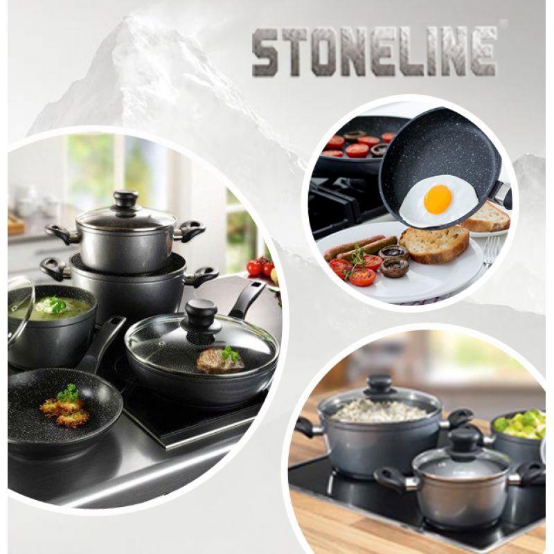 Nồi chảo chống dính Stoneline – lựa chọn hoàn hảo cho bếp từ