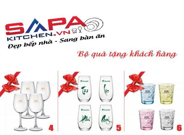 Những mẫu ly thủy tinh in logo đẹp làm quà tặng